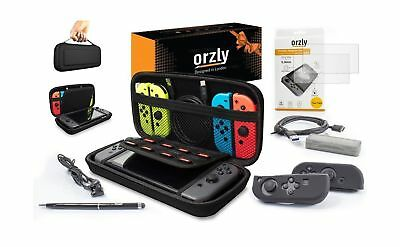 Switch Accessories, Orzly Ultimate Pack for Nintendo Switch (Bundle includes:...