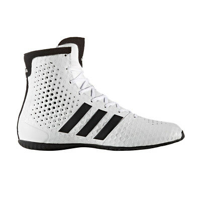 New Adidas KO Legend 16.1 White Pro Mens Mid Boxing Boots Shoes rrp £150