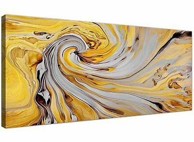 HD Large Abstract Yellow Wall Art Prints Canvas Wall Art Print Pictures Unframed