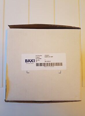 Baxi 7654033 Pump Kit ERP Brand New Original Genuine Spare Part Grundfos type