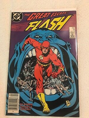 The Flash 11 April 1988 from DC Comics