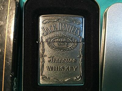 NEW Vintage 08 Jack Daniels Old Number 7 Tennessee Whiskey ZIPPO Lighter 427