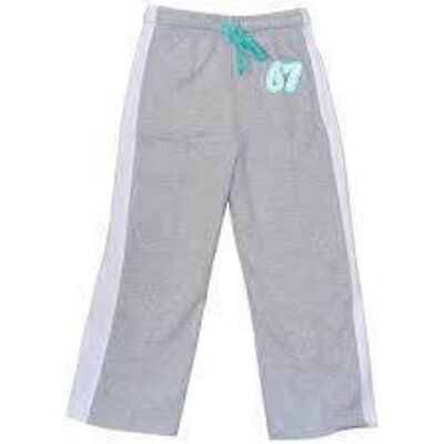 Boys South Island Grey Side Stripe Joggers 2 Pairs Aged 7-8 Yrs Jogging Bottoms