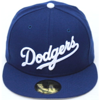 ee935f98c MLB Los Angeles Dodgers Wordmark Script New Era 59Fifty Fitted Hat - Royal  Blue