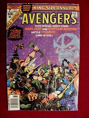 The Avengers King Size Annual No. 6 1976
