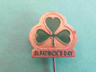 St Patricks Day Pin Badge