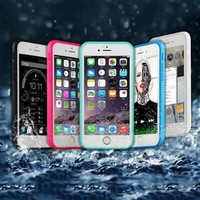 Waterproof Shockproof Hybrid Thin TPU Case Cover For iPhone 6 6s 7 8 Plus 5 5s E