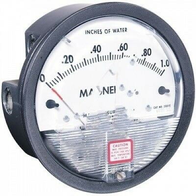 0-0.50 Magnehelic Deff. Pressure Gauges. Dwyer. Free Shipping