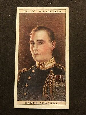 Wills's Cigarettes Cinema Stars 2nd Series Card #9 Henry Edwards