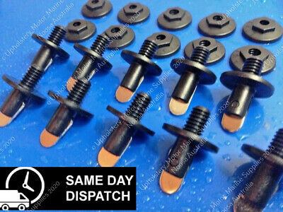 Stayput Fasteners, Black, Canvas To Canvas, For Eyelet Covers - Trade Quality!