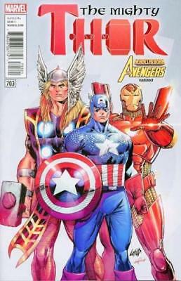 Mighty Thor #703 Legacy Avengers Variant Cover B 1St Print