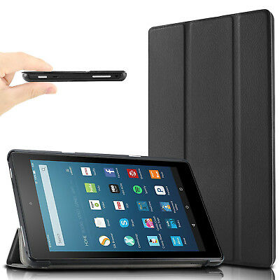 Infiland Slim Stand Case Cover For All-New Amazon Fire HD 8 2017 Tablet Release
