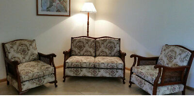 Vintage 3 piece  Lounge Suite Fully Restored