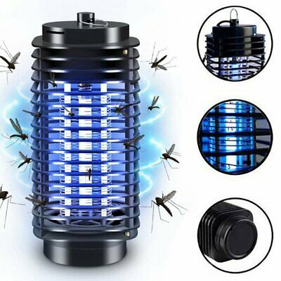 Electric Mosquito Killer UV Light Insect Grill Flying Pest Bug Zapper Trap Lamp