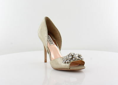 Badgley Mischka Giana II Women's Heels Platinum Size 6 M
