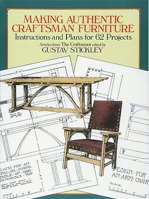 Dover Woodworking: Making Authentic Craftsman Furniture : Instructions and...