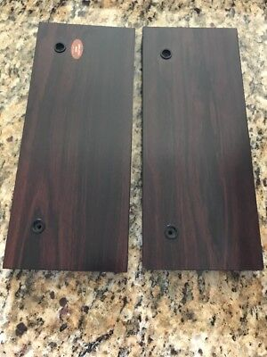 Sony ES Wood Side Panels for TA-55 ES Amp Amplifier