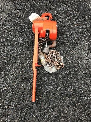 Cm 1-1/2 Ton Lever Chain Hoist Come Along Never Used