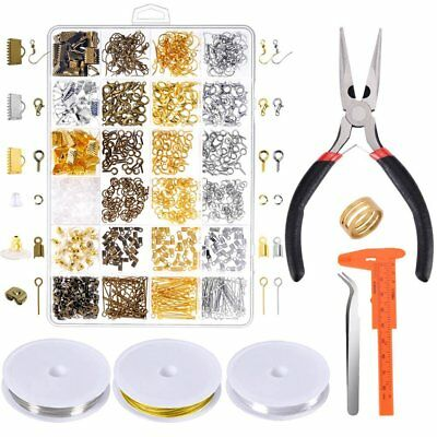 Paxcoo Jewelry Making Supplies Kit - Jewelry Repair Tools With Accessories Jewel