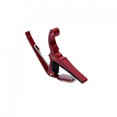 (Standard Packaging, Red) - Kyser Quick-Change Capo 6-String Red. Best Price
