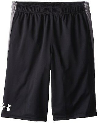 (Youth X-Small, Black (003)/Graphite) - Under Armour Boys' Eliminator Shorts