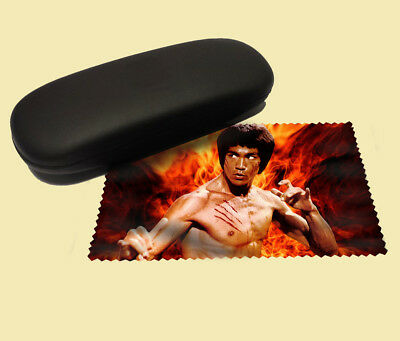Bruce Lee lens cloth screen wipe laptop pc glasses soft martial arts actor
