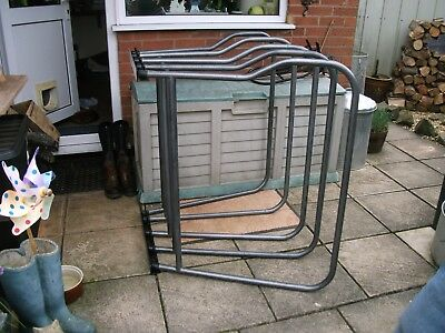 Quality Heavy Duty Horse Rug Rack 5 Arms Easy To Fit