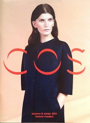 COS Autumn Winter 2011 Fashion Magazine with Claus Meyer Maureen Paley articles