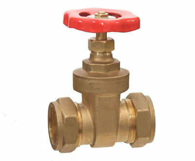 Brass Compression Gate Valve Fittings
