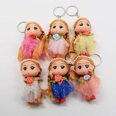 Princess Doll Keychains
