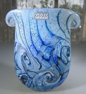 Gozo Malta Glass Vase Collection The Big Blue By Besson Pop Art