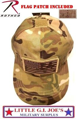 Kids Camouflage Hat & Patch Multicam Operator Tactical Hat Rothco 5462 17771