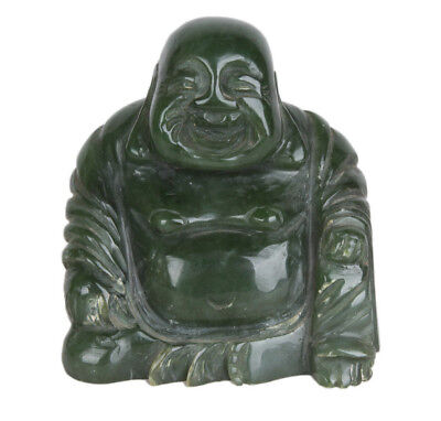 China 20. Jh. Buddha - A Chinese Jade Figure Of Monk Ch'i-t'zu - Cinese Chinois