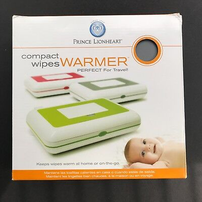 Prince Lionheart Compact Wipes Warmer Perfect for Travel Gray Color