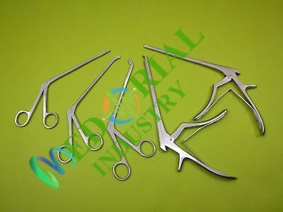 Ferris-Smith Kerrison Punches and rongeur Forceps Set of 5 Surgical Instruments