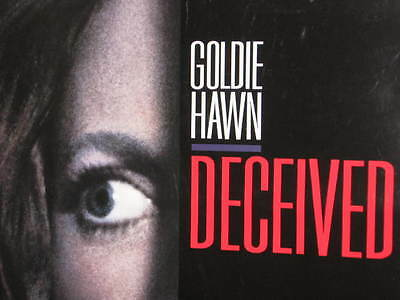 Deceived Goldie Hawn John Heard Original Rolled Double-Sided Theatrical Poster