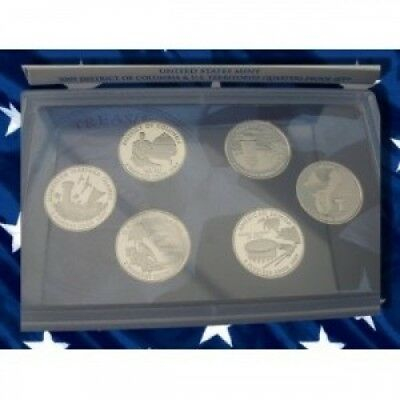 2009 U.S. Mint District of Columbia and U.S. Territories Quarter Six Coin
