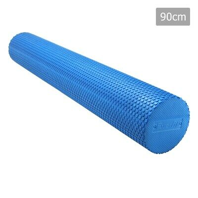 Yoga Foam Roller EVA Stick Physio Gym Exercise Pilates Massage 90x15cm With Bag
