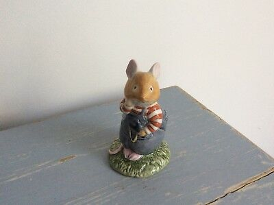 Royal Brambly Hedge Figurine - Wilfred Toadflax - As New