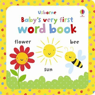 Baby's Very First Word Book - Hardcover - NEW - Book