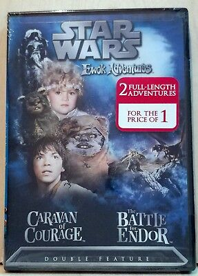 Star Wars Ewok Adventures: Caravan of Courage/ The Battle for Endor (Region 1)