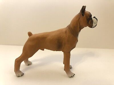 FREE SHIPPING | Papo 54019 Boxer Dog Toy Canine Animal Figurine New learning