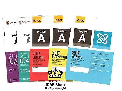 ICAS Past Papers - Year 3 - Cheapest Price $1 / paper