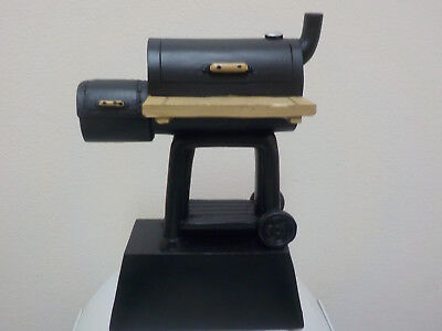 """BBQ trophy, award, Cook Off, Ribs, Grilling, with engraving, 6"""" high, Fun Summer"""