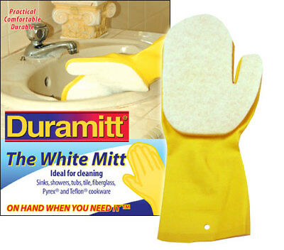 Duramitt The White Mitt - Top Quality Cleaning Glove - Delivery Worldwide