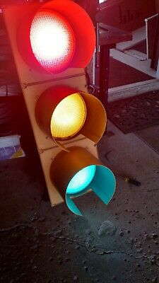 "Durasig Traffic Signal 12"" LED Lights From an Intersection near you!"