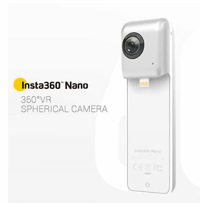 Insta360 Nano Spherical Video Camera for iPhone. 5% off with code PULL5