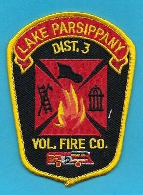 PARSIPPANY FIRE DISTRICT 3 Patch ~ New Jersey ~ Morris County ~ Very Nice  Patch