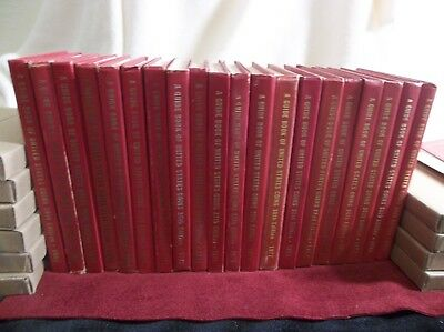 (20 books) A Guide Book of United States Coins (Red Book) 1965-1985 less 1984