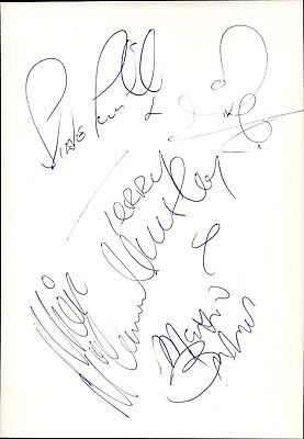 Smokie Mike Craft & Terry Uttley Band Musik Original Autogramm Autograph O-1574+